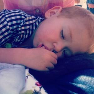 sleeping eric